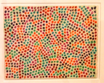 Peter Young - Untitled (1968)